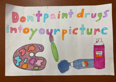 Don't paint drugs into your picture