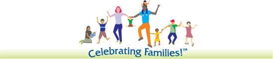 Celebrating Family Logo