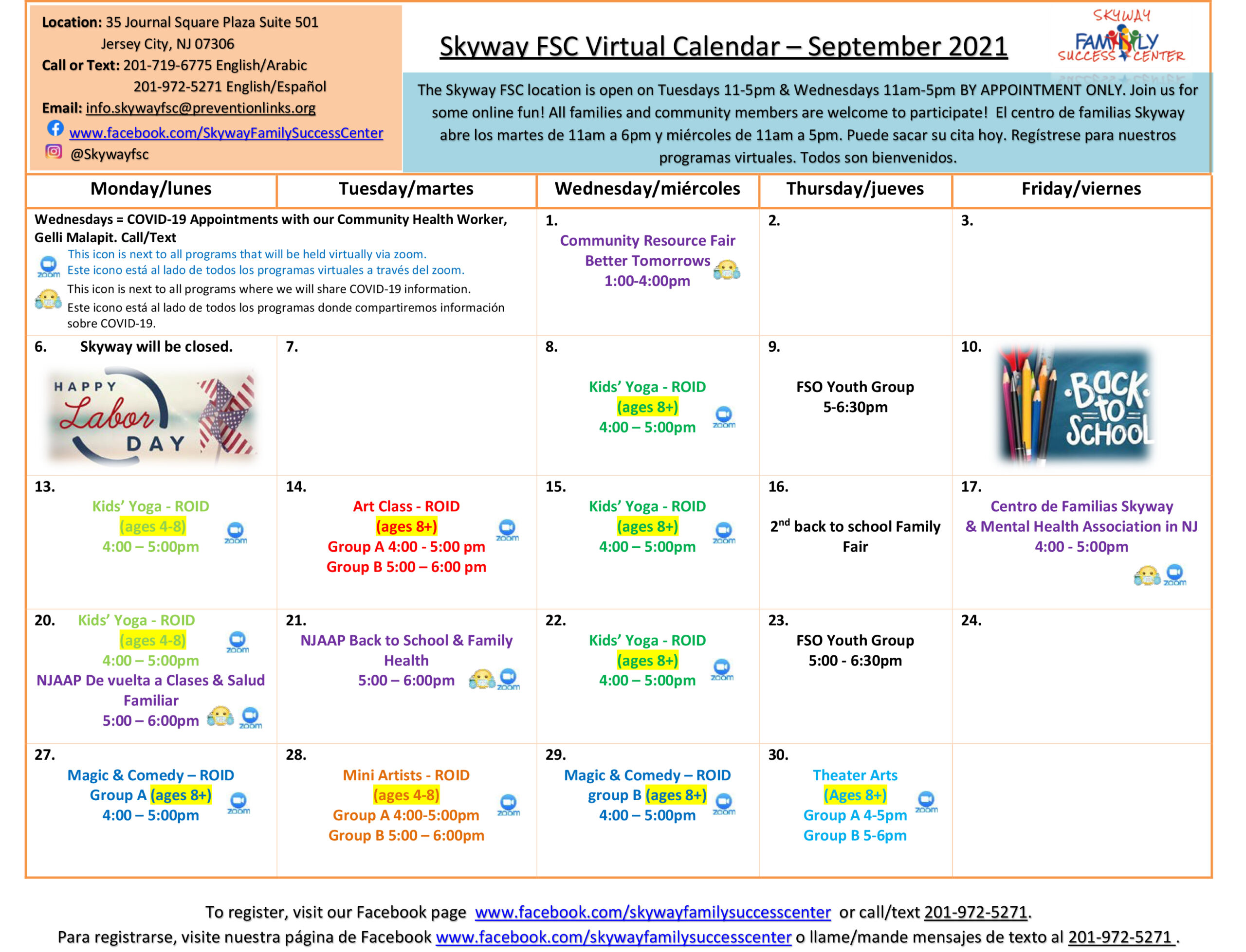 SkywayFSC Virtual Monthly Calendar - September 2021-1
